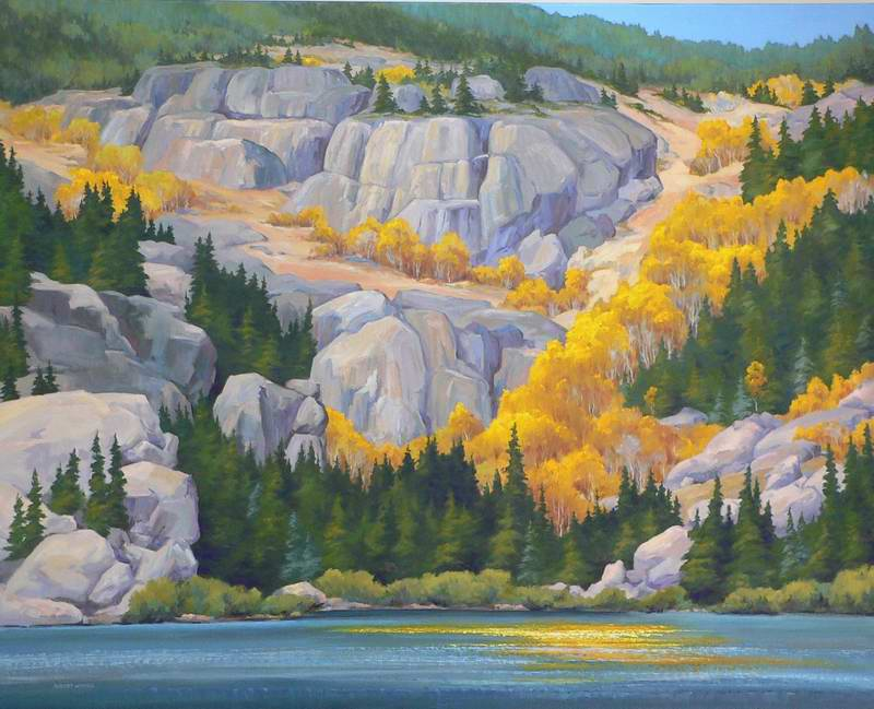Bear Lake 48x60 oil $10,000