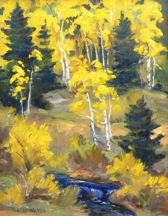 Hidden Valley 10x8 oil $500