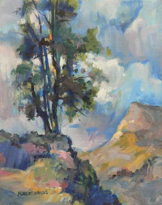 Ridge Top Tree 10x8 oil SOLD
