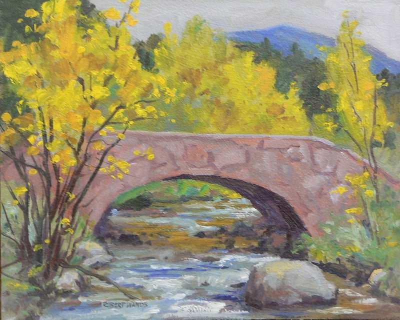 Water Under the Bridge 8x10 oil $500